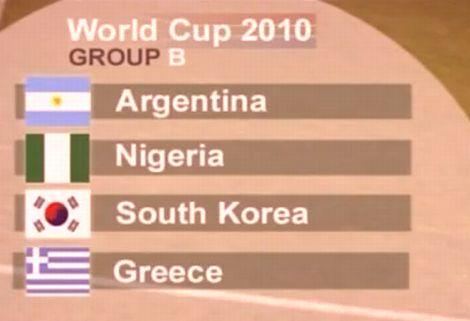 VB 2010: B-csoport