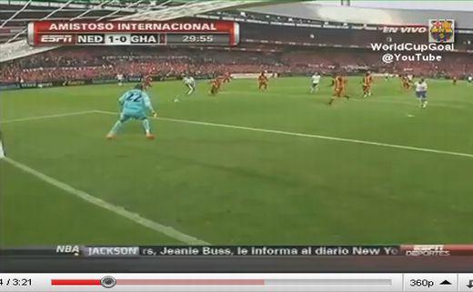 Hollandia - Ghána: 4-1