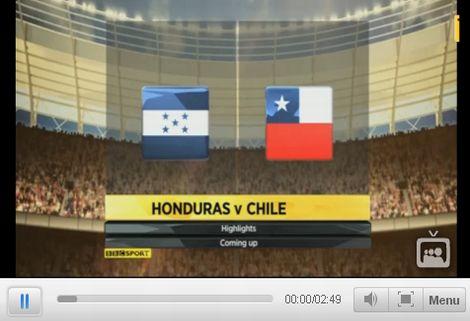 Honduras - Chile: 0-1