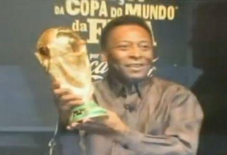 Pelé nagy vágya egy afrikai csapat a döntőben