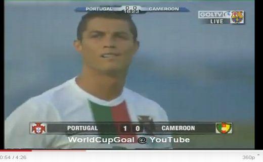 Portugália - Kamerun: 3-1