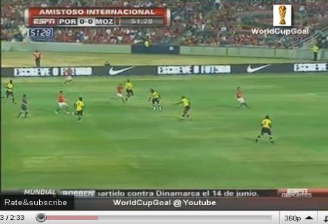 Portugália - Mozambik: 3-0