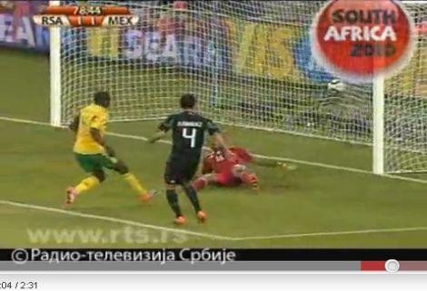 Dél-Afrika - Mexikó: 1-1