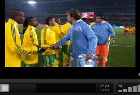 Dél-Afrika - Uruguay: 0-3