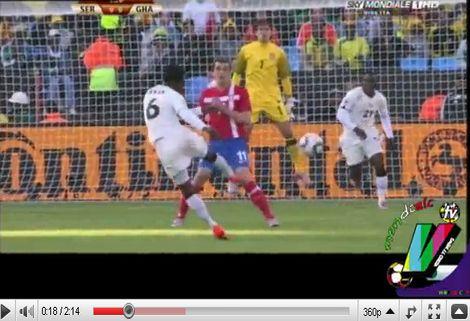 Szerbia - Ghána: 0-1