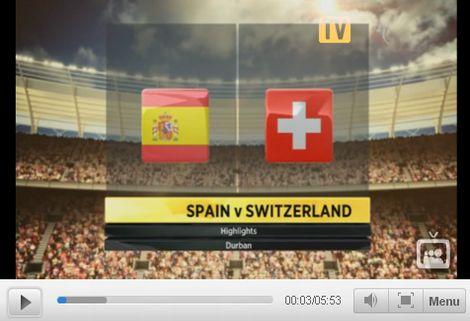 Spanyolország - Svájc: 0-1
