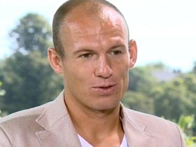 Robben még mindig sérült