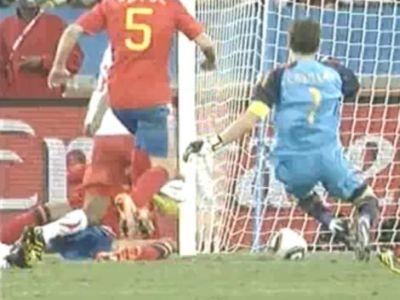 A gól előtt mindenki repült, aki arra járt