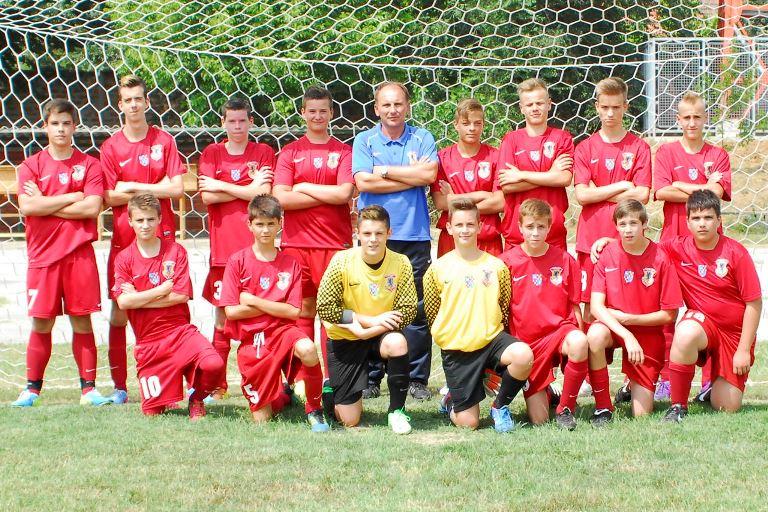 A DPASE U14-es csapat (Fotó: Szőke Dániel Bogdán)