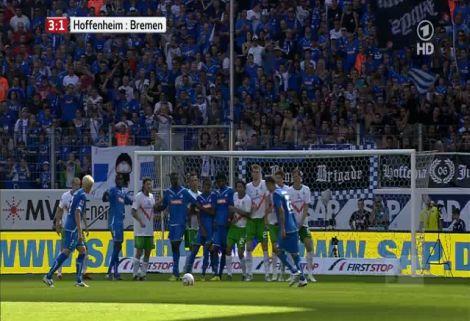 Hoffenheim - Werder Bremen: 4-1