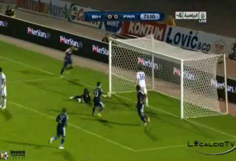 Bosznia - Franciaország: 0-2