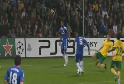 Nem volt problémája a Chelsea-nek (videó)
