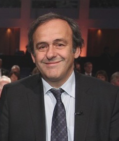 Michel Platini, az UEFA elnöke