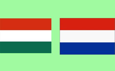 A holland válogatott kerete a Magyar Válogatott ellen