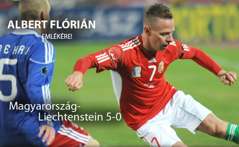 Albert Flórián emlékére: Magabiztos győzelem Liechtenstein ellen