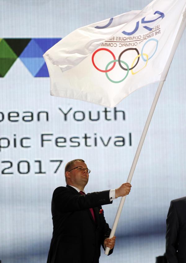 Győr átvette a stafétát az EYOF-on