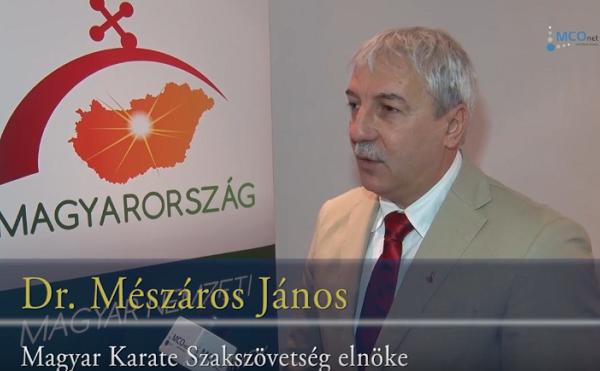 Mészáros: 2016 kiemelkedő év a karate számára
