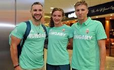 Elrepült az olimpiára az első magyar sportolói csapat