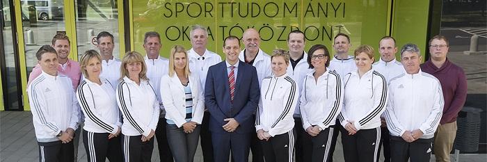 A Debreceni Egyetem Sporttudományi Koordinációs Intézetének tanárai