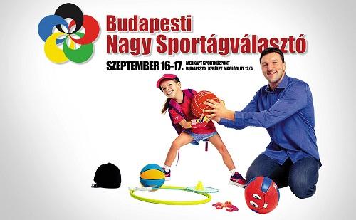 XIX. budapesti Nagy Sportágválasztó a hétvégén