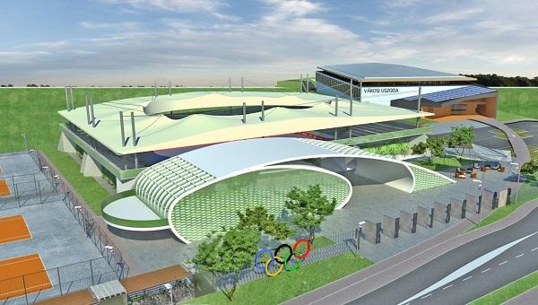 Az Európai Ifjúsági Olimpiai Fesztivál a GYAC meglévő létesítményei köré épül