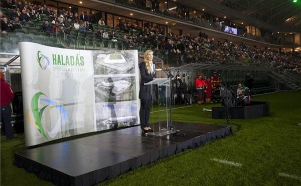 Felavatták a Haladás új stadionját