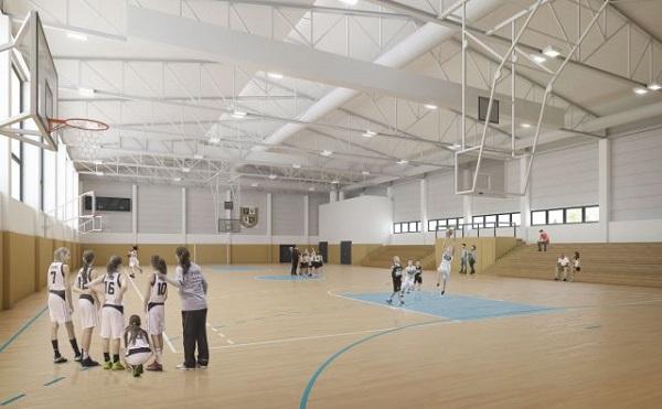 A Pécsi Vasutas Sportkör 2000 négyzetméteres csarnoka a PVSK mintegy 500 kosárlabda tánpótlás-játékosának neveléséhez is biztosítja majd a helyszínt