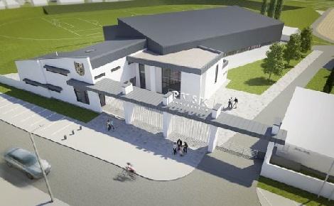 Hamarosan indul a PVSK új pécsi csarnokának építése: 2000 négyzetméter 860 millió forintból