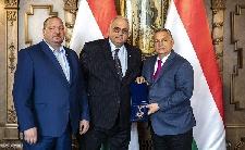 A Nemzetközi Birkózószövetség elnökével tárgyalt Orbán
