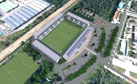 Stadion épül Szegeden
