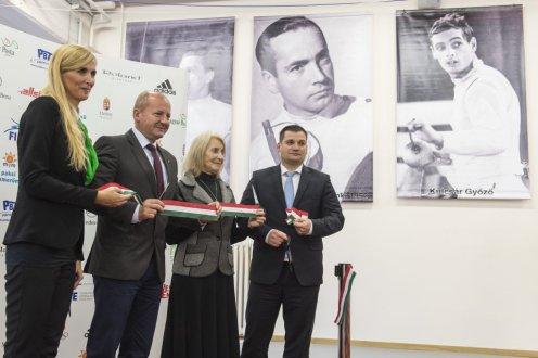 Nőtt a szerepe a vívósportnak a felújított Gerevich Aladár sportcsarnokban